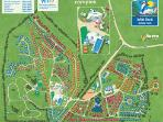 Wild Duck Haven Holiday Park site map.