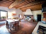 Ripostena, Apt8_CasaVecchia  Soggiorno cucina - Living-dining room