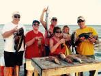 Barracuda, Grouper, Trigger, Snapper