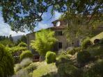 L'Olmo enjoys a private and secluded position high above the Chianti region of Tuscany