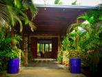 relax in hidden paradise with tropical atmosphere at devos