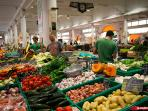 Fresh fruit and vegetable market Forville is only 3 mins walk from the aparment
