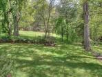 Yard area: