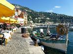 Dining along the quay of Villefranche is one of the most stunning settings in the world.