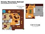 Floor Plan Smoky Mountain Retreat