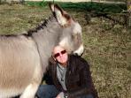 Pieter et son âne Euréka