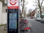 Bicycle rental (1 minute walk from flat)