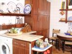 Fully decorated kitchen