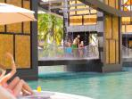 Hotel has 4 pools including this Bidge Massage Pool 1 Adults Only 1 Kids Pool 2 Family Pools