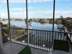 Spectacular views of the bay from the private lanai
