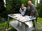 Fish Cleaning Table for Your Catch