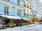 It is a short 5 minutes' walk from the Pompidou Center, LES HALLES, Palais Royal, Bourse or the Mara