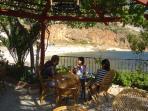 Restaurant Overlooking Kalkans Beach