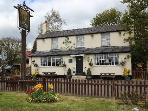 The Chequers pub in the village, easy walking distance - 5 mins.  Sophia & Leo give a warm welcome.