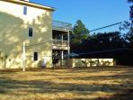 Over-sized lot for Spread Out Room, Sand Volleyball Court, Basketball Hoop, Yard Games-