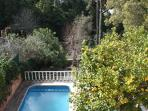 Swimming pool, 2nd storey view