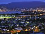 Come and enjoy the panoramic views of Hobart from your own private balcony at Charbella's.