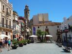 Plaza ayuntamiento de Calella