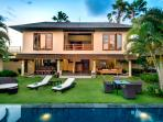 Viilla M Bali Seminyak houses five excellently designed bedrooms, overlooking the pool and garden