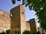 The ancient castle at Priego de Córdoba