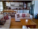 Open planned lounge