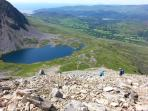 Fabulous walking on the Cader Idris range
