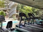 The gym at Tao Wellness Center.