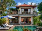 main Building of two bedroom private pool villa