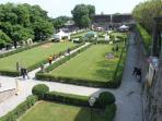 giardini nel palazzo a volta mantovana