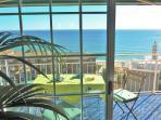 balcony, fantastic sea view