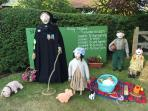 Muston Scarecrow fair , held every year for a week in summer