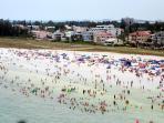Siesta Key Beach, Crescent Beach, Sarasota, FL.
