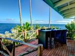 dining deck with fantastic views