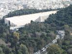 Kallimarmaro Stadium from Acropolis