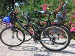 use of 2 bicycles available free of charge