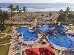 the adjacent Crocs Pool is the largest in Jaco which as a guest you can use free of charge.