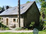 Traditional stone built Gite du Vert Rivage