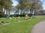Crazy golf in Glen Gardens
