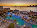 Casa Dorada Resort pools, spa, swimmable beach, restaurants, nightlife, shopping, whale watching