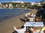 East beach in Almyrida