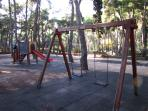 Playground 500 meters from the studio