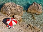 Omis hidden beach