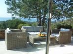 Casa Mia I terrace seating
