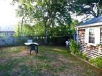 Backyard - side view