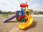 Family-friendly Tuscan Hills gated community has a nice little play set for your children.