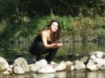 La Batllia relax en el rio Ter