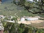Vista de la urbanización desde la sierra