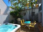 Southernmost Retreat- Spacious 2 BR Condo On Duval St! Private Parking!