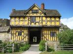English Heritage's magnificent Stokesay Castle 3 miles away.