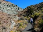 Hiking in Blue Basin
